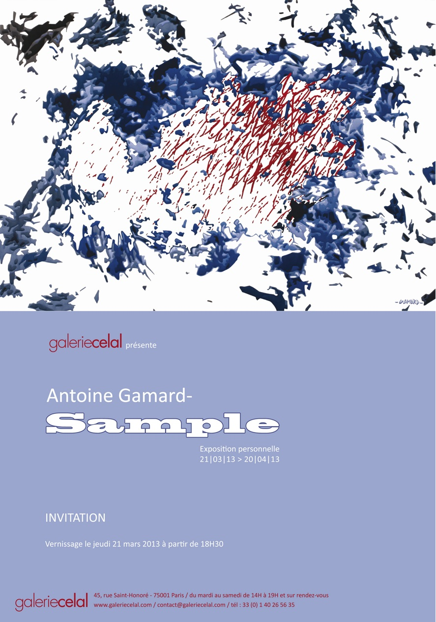 SAMPLE / ANTOINE GAMARD